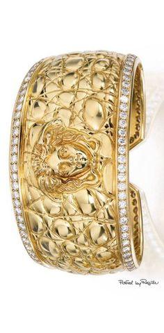 Versace Gold Medusa Stud Earrings USD 185 SSENSE bijoux