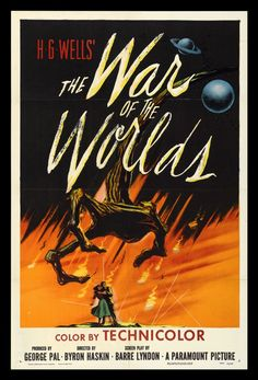 science fiction movie posters 1950's | 1950′s Sci-Fi Movie Poster Art | Gidget's Scrapbook