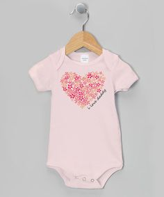 Another great find on #zulily! Black 'I Love Daddy' Bodysuit - Infant by Tesa Babe #zulilyfinds