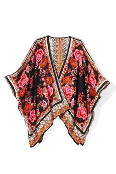 Hot Summer Fashion That Won't Burn Your Budget: Throw this lovely, airy thing over a white tee or basic shift dress for instant gorgeousness. Kimono, $44; lulus.com (20% off with code RB20).