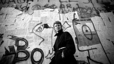 David Bowie in Berlin in 1987