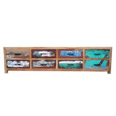 Anteak Fishing Boats Made Furniture   Audio Sideboard 8 Drawers, 999u20ac, Now  Featured