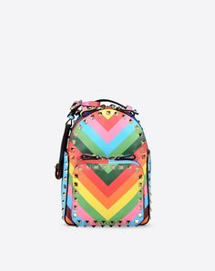 I want it!!!Valentino Online Boutique - Valentino Women Rockstud 1973 Small Backpack