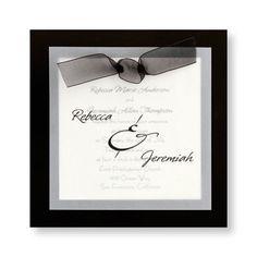 My Wedding Invites :)    Sheer Classic Wedding Invitations by TheAmericanWedding.com