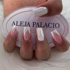 French Manicure Designs, Best Nail Art Designs, Acylic Nails, Cat Eye Nails, Nail Tattoo, Instagram Nails, Neutral Nails, Nail Spa, Stylish Nails