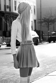 pretty hair hair cute dress