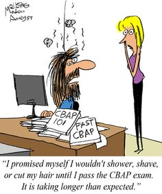Humor - Cartoon: How Long Does it Take to Pass the CBAP Exam