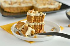 Paleo Raw Carrot Cake