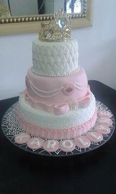 Facebook 14th Birthday Cakes, Birthday Cake Roses, Sweet 16 Birthday Cake, Elegant Birthday Cakes, Beautiful Birthday Cakes, Birthday Cake Girls, Gorgeous Cakes, Cake Designs For Girl, Wedding Cake Designs