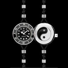 #Reloj #Pepito Marco Mavilla Ying Yang. Reloj Reversible. Antes: 190€ Ahora: 140€ Más relojes pepito, en nuestra campaña de #promoción de nuestra tienda #outletonline http://www.entretiendas.com/Catalogo/campanha/97/Relojes_Pepito_Marco_Mavilla