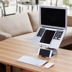 3-in-1. The Apex Stand with MacBook Air - iPad Mini - iPhone 6