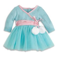 American Girl Bitty Baby - Frosty Ice-Skating Outfit for Dolls - Bitty Baby 2015