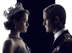Claire Foy and Matt Smith in The Crown (2016-)