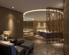 luxury spa treatment room...by ANNCO DESIGN