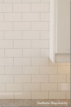 What Are Subway Tiles white subway tile with contrasting gray grout | la salle de bain