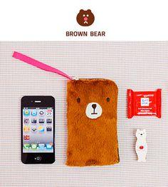 Чехол для телефона Bosong Bosong - Brown Bear