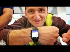 This video blogger tried on a iwatch and the apple rep watches his blog! very cool connection.