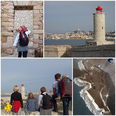 Voyages et enfants: Marseille chateau d'If avec des enfants