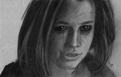 Teagan Croft as Rachel Roth/Raven in the 'Titans' TV series. Freehand sketch using HB pencil and eraser. Comic Book Heroes, Comic Books, Titans Tv Series, Pencil, Sketches, Comics, Ravenna, Drawings, Comic Strips