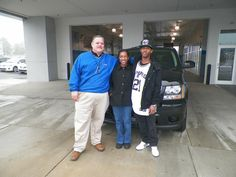 www.DriveBaby.com  On behalf of salesman Ray Lockamy and the rest of us at the Milton Ruben Superstore, thank you and congratulations on your new vehicle Mr. and Mrs. Judge! #DriveBaby