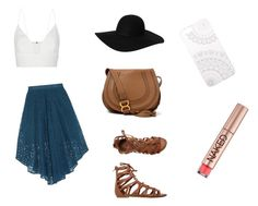 """""""Blue And Lace Boho"""" by g4glitter on Polyvore"""