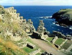 Tintagel, Cornualha. King Arthur's land
