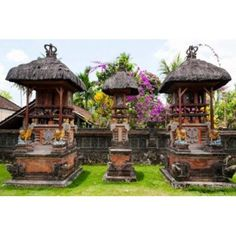 Offering altars Rejasa Penebel Bali Indonesia Canvas Art - Panoramic Images x Panoramic Images, Altars, Gazebo, Canvas Art, Outdoor Structures, Home, Products, Kiosk, Ad Home
