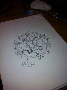 tattoo flash #tattoo idea #neo traditional tattoo #tattoo flower