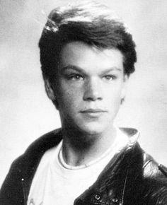 Happy Birthday Matt Damon! Flashback to Senior Year at Cambridge Rindge and Latin High School, 1988.