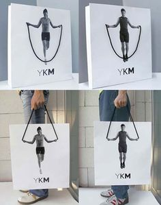 YKM Bag Package Design.