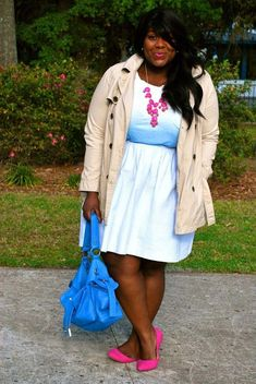 Camisa Formal, What I Wore, Lady, Trench, Plus Size Fashion, Casual, Curvy, Friday, Shirt Dress