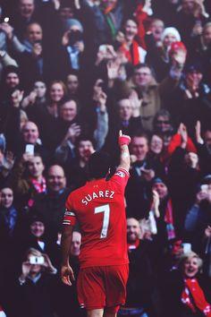 No. 1 in Europe #Suarez #LFC