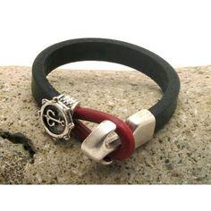 #leather #bracelets #handmade #fathersday www.bonanza.com/booths/Atelye