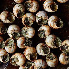 Escargot With Garlic-Parsley Butter