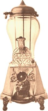 Gumball Machine from the early 1900s.