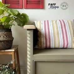 I have always wanted to get my grubby mitts on a bench or settle so when this one came along I could't wait to get started! here's how I created this Farmhouse Style Furniture, Modern Farmhouse, Colorful Furniture, Painted Furniture, Wood Colors, Paint Colors, Bleached Wood, Paint Line, Nook And Cranny