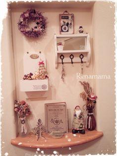 *クリスマスディスプレイ☆とアメブロトピックス♡*|゚*れなmamaのhomemade日記*゚