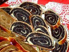 Szép márványos tetejű bejgli, rengeteg töltelékkel, mert mi így szeretjük! - Bidista.com - A TippLista! Hungarian Recipes, Yule, Cake Recipes, Food Photography, Food And Drink, Cooking Recipes, Yummy Food, Sweets, Meals