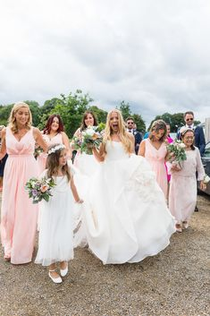 Dee and Keith's beautiful, relaxed Clonabreany House wedding Irish Wedding, Rustic Wedding, Got Married, Getting Married, Maggie Sottero Wedding Dresses, Wedding Confetti, Bridesmaid Dresses, Bridesmaids, Real Weddings