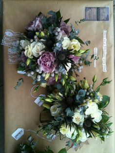 Brides and Bridesmaid Bouquet