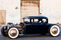 #Cadillac powered #ModelA #Ford. #HotRod #Classic #Custom #Style #Speed