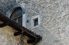 Medieval stones in Caramanico Terme - Convento ex Clarisse - sec. XII