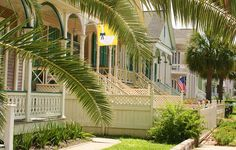 Historic East End District of Galveston Island