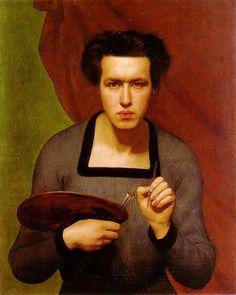 Louis Jammot, Autoportrait (1832)