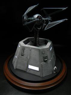 Tie Interceptor ~ By William Hayden - http://thefiberopticstore.com/project/model/tie-interceptor/