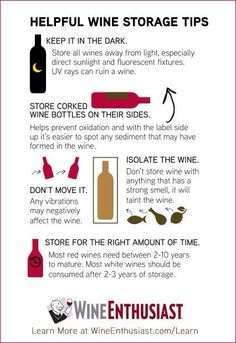 How to store wine