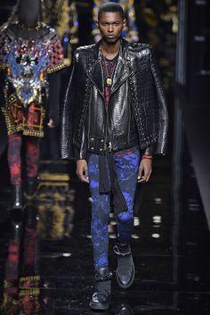 Balmain Fall 2017 Menswear Collection - Fashion Unfiltered