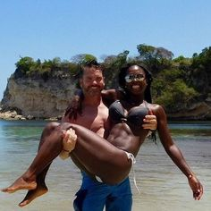 The heavens brought us together forever. I will love you forever, in this life and in the next  Amazingly beautiful interracial couple #love #wmbw #bwwm #swirl #lovingday #relationshipgoals