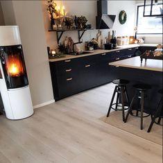Kitchen Dinning Room, Kitchen Inspiration Design, House Design Kitchen, Kitchen Dining Room, Home Kitchens, Kitchen Dinning, Modern Kitchen Interiors, Home Interior Design, Kitchen Renovation