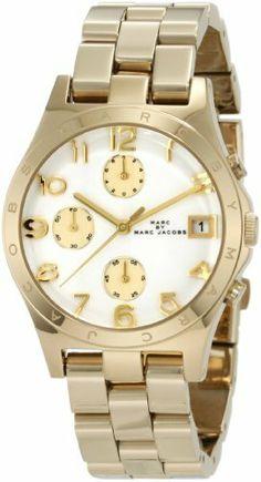 Marc Jacobs Henry Quartz Gold Tone Bracelet Women's Watch - MBM3039 Marc by Marc Jacobs. $173.00. Quartz Movement. 36.5mm Case Diameter. Mineral Crystal. 30 Meters / 100 Feet / 3 ATM Water Resistant. Save 23%!